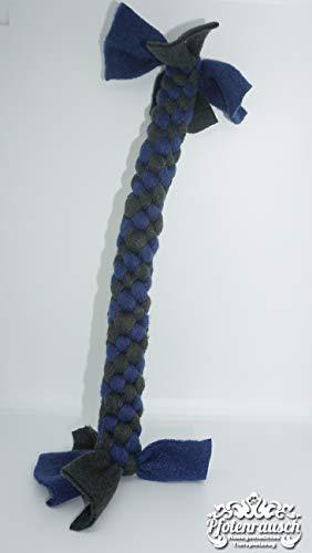 Zerrspielzeug - Zergel für Hunde - blau/grün