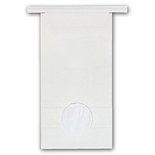 マルタカ クラフト 留具付白クラフトSP 保湿タイプ 窓付 300~450g用留具付き 1ケース(300枚入) KH-S-813 B079L6FM3N 1ケース(300枚入) 300450g用米袋