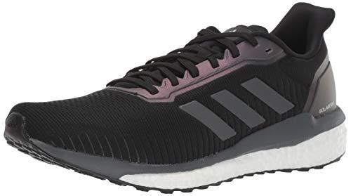 adidas Men's Solar Drive 19 Running Shoe, Black/Grey/White, 11 M US