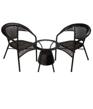 Amazing Shri Sai Outdoor Furniture 2 Chair And 1 Table Set Amazon Download Free Architecture Designs Scobabritishbridgeorg