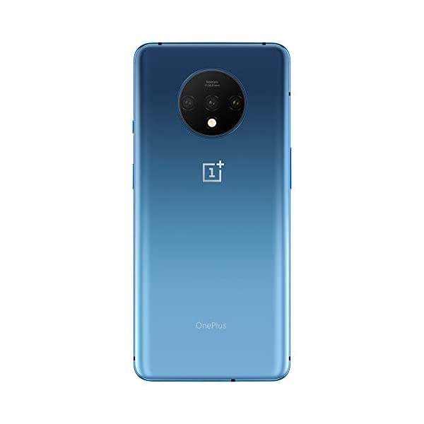 (Renewed) OnePlus 7T (Glacier Blue, 8GB RAM, Fluid AMOLED Display, 256GB Storage, 3800mAH Battery) 2021 July This Certified Refurbished product is tested to work and look like new with minimal to no signs of wear & tear; the product comes with relevant accessories (Except headphone and case) and is backed by a minimum six month supplier-backed warranty; box may be generic 48+12+16MP triple rear camera with telephoto lens + ultrawide angle lens | 16MP front camera with 4K video capture @ 30/60 FPS, ultrashot, nightscape, portrait, pro mode, panorama, HDR, AI scene detection, RAW image 16.63 centimeters (6.55 inch) 90Hz fluid AMOLED with 2400 x 1080 pixels resolution and 402 ppi pixel density