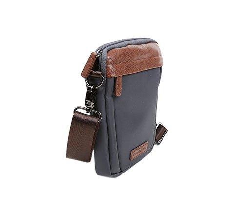SALVADOR BACHILLER Bandolier Bag - Boomer 50271 - Grigio