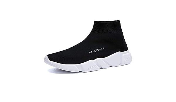 KAYDX Calcetines Zapatos Zapatillas de Deporte Deportivas Ligeras para Correr Malla Tejidas Voladoras Zapatillas Transpirables para Correr al Aire Libre: Amazon.es: Zapatos y complementos