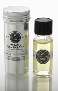 Organic Ravensara Essential Oil (Ravensara aromatica) (10ml) by NHR Organic Oils