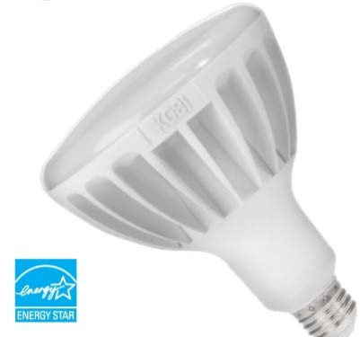 4 Pack Aluminum BR40 Dimmable LED Lamps 52W (205W Equivalent) 5000K 5300L 120V E26 by USA-LED (Image #1)