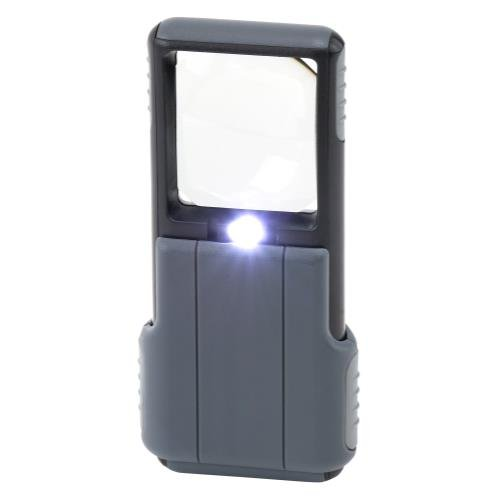 Carson Optical MiniBrite - 5X LED Pocket Magnifier w/Aspheric Lens (4/Cs)