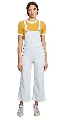 J Brand Women's Cropped Overalls, Powered, Large by J Brand Jeans