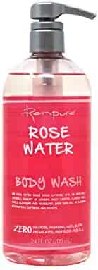 Renpure Rose Water Body Wash 24 Ounce