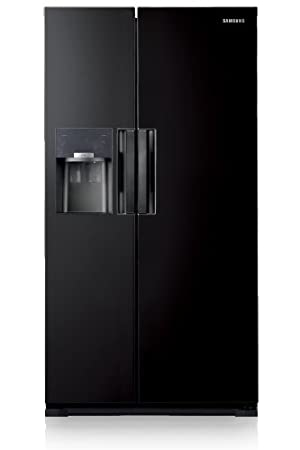 Samsung RS7768FHCBC – Side-by-Side Fridge (Independent, Black ...