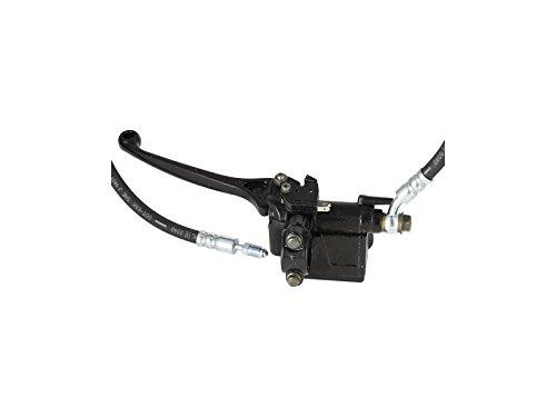 ETZ150 f/ür ETZ125 FEZ Hauptbremszylinder ETZ mit Bremsschlauch und Bremslichttaster