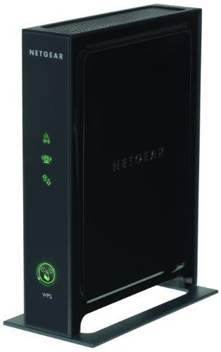 NETGEAR WN2000RPT-100PES Universal WLAN Range Repeater (N300, 4 LAN-Ports, Funkstandard n/g/b) schwarz