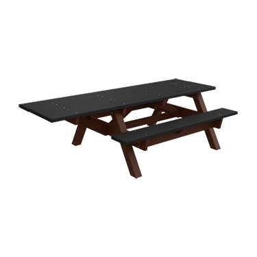 Amazoncom ADA Chair Traditional Recycled Plastic Picnic - Ada picnic table requirements