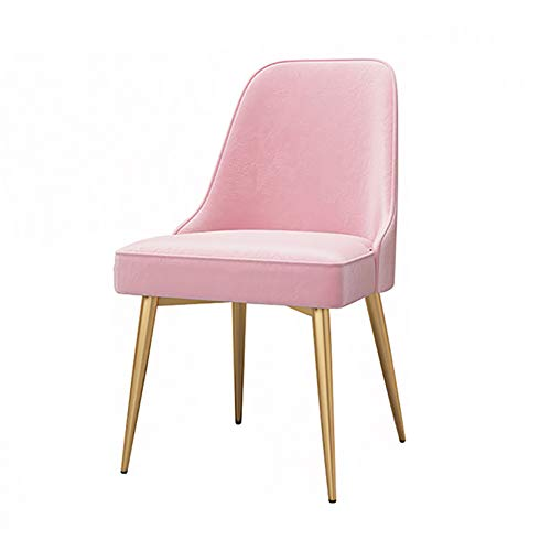 Amazon.com - Dining Chair YXX Pink Dining Side Chair Velvet ...