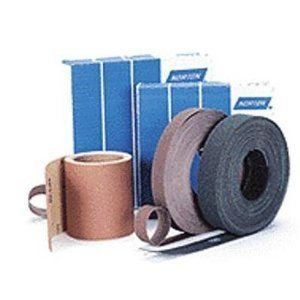 Norton K225 Metalite Abrasive Roll, Cloth Backing, Aluminum Oxide, 2'' Width x 50yd Length, Grit P100 (Pack of 5)