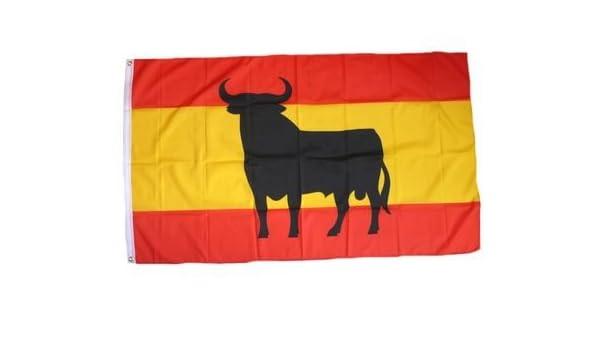 Bandera España toro Osborne 150 x 250 cm, diseño de la Cuenca del ...