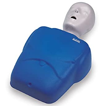dea70dbefd1 NASCO LF06001U CPR Prompt Adult/Child Manikin with 10 Lung Bags and Tool,  Blue: First Aid Products: Amazon.com: Industrial & Scientific