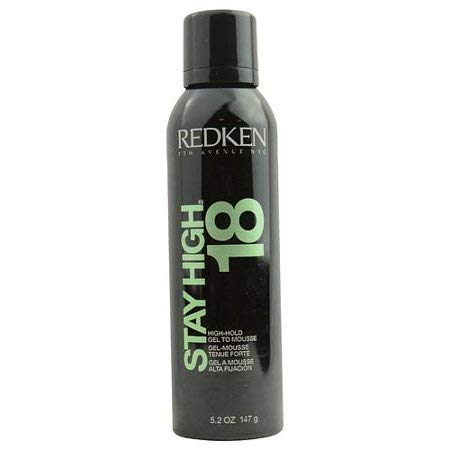 Redken Stay High 18 Hold Gel To Mousse for Unisex, 5.2 Ounce -