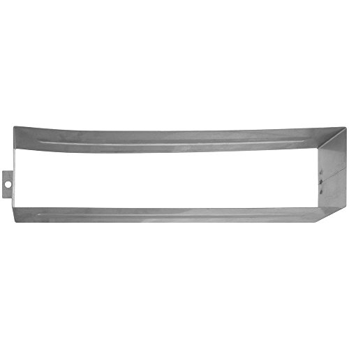 (National Hardware N264-978 V1911S Mail Slot Sleeve in Stainless Steel )