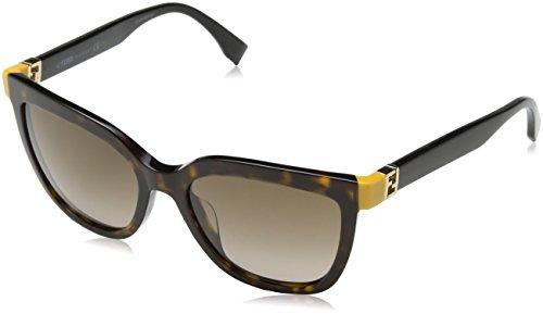 Fendi FF 0128/S - TRDJ6 Dark Tortoise Sunglasses