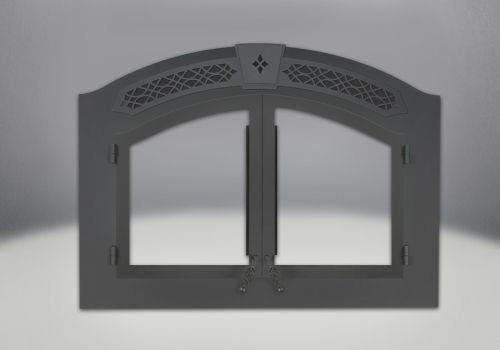 Arched Faceplate - Painted Black