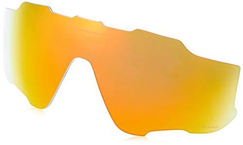 Oakley Jawbreaker Replacement Lens Fire Iridium Polarized, One ()