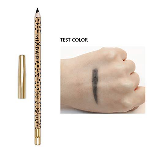 Eye Pen,MIXDAIR Natural Black Eyeliner Pencil Long Lasting Waterproof Eye Liner Pen Easy,Eyeliner Cream, Health & Personal Care,