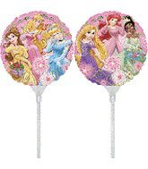 9 Inch Tangled Group EZ Air Fill Balloons - 3 Count
