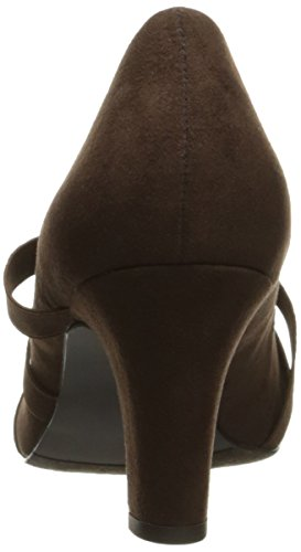 Street Easy Street Suede Womens Dress Pump Easy Brown Womens Camillo ffU7xqAa