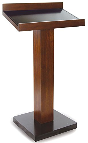 Furniture of America CM-CAT045 Catalia Dark Oak and Espresso Book Stand Miscellaneous-Home Office Desk