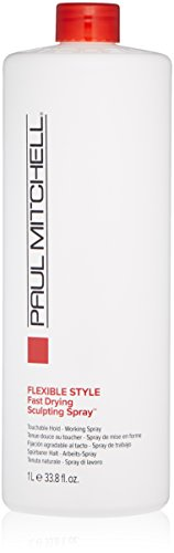 - Paul Mitchell Fast Drying Sculpting Spray,33.8 Fl Oz