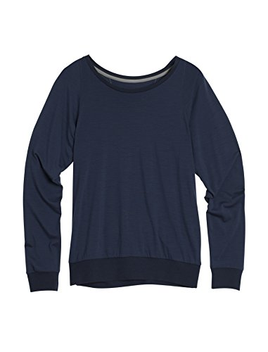 - Icebreaker Women's Sphere Long Sleeve Sweater, Medium, Admiral HTHR