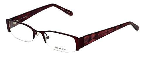 VERA WANG Eyeglasses V045 Berry 48MM by Vera Wang