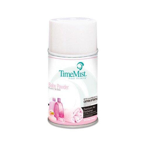 TimeMist 332512TMCT 5.3 oz. Metered Baby Powder Fragrance Dispenser Refills (12-Pack) by Timemist