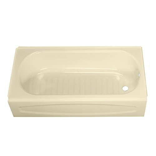 Review American Standard 0263.112.021 New Solar Soaking Bathtub with Right Hand Outlet, Bone, 5-Feet