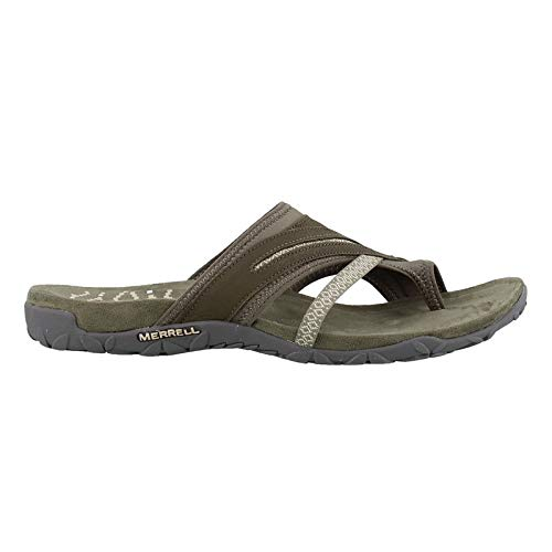 Merrell Women's Terran Post II Dusty Olive 7 M US - Merrell Green