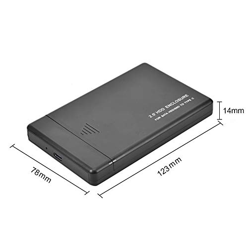 SATA Portable 3TB Mobile Hard Drive Box,External Hard Drive Portable HDD for PC Laptop and Mac,2.5-inch,USB2.0/3.0, Type-C 3.1