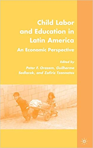 Child Labor and Education in Latin America: An Economic ...