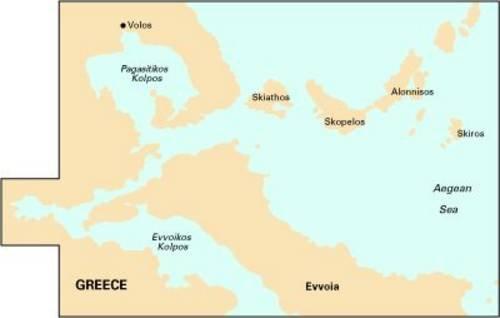 Imray Chart G25: N Sporades and Nisos Evvoia