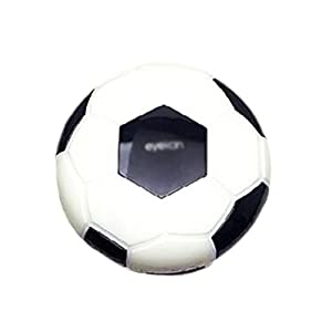 Creative Soccer Contact Lens Cases For Men Or Women-Black