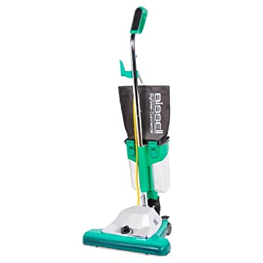 Bissell BG102DC BigGreen Commercial ProCup Comfort Grip Handle Upright Vacuum with Magnet, 870W, 16 Vacuum Width