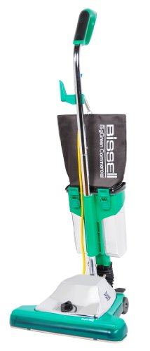 Bissell BigGreen Commercial BG102DC ProCup Comfort Grip Handle Upright Vacuum with Magnet, 870W, 16