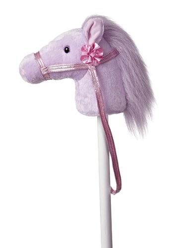 Aurora World Giddy-Up Fantasy Stick Pony Plush, One Size, Purple / Pink / White from Aurora