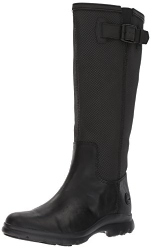 Timberland Turain Black Wp Women's Tall Rain Boot aaxqr5Tn