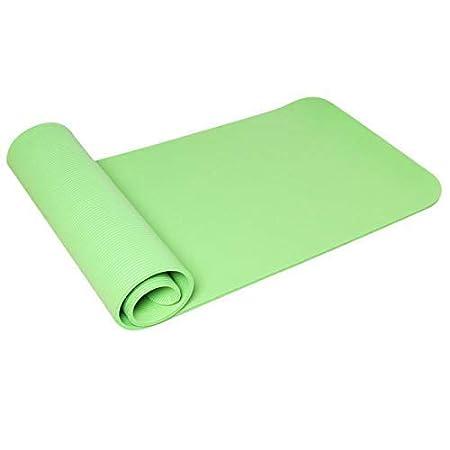 BJYG Colchoneta de Yoga Antideslizante de Color Puro Espeso ...