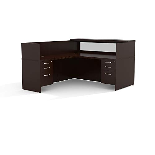 Safco Products Mayline Aberdeen Series Typical 36 Reception ()