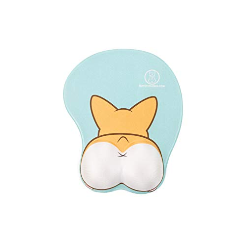 Nayo The Corgi Corgi Butt 3D Mouse Pad - Original Design Owner (Two Color)