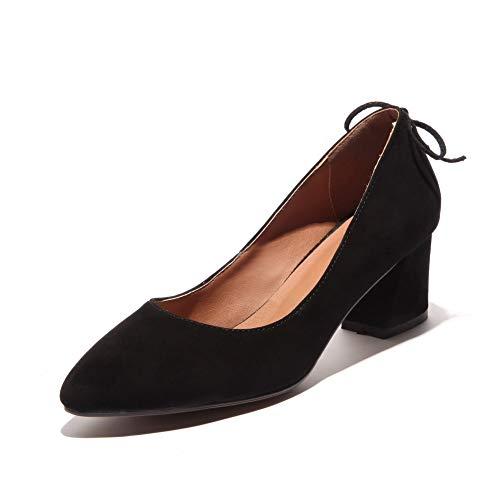 36 5 EU AdeeSu Noir Femme SDC06037 Sandales Compensées Noir BgYzHx