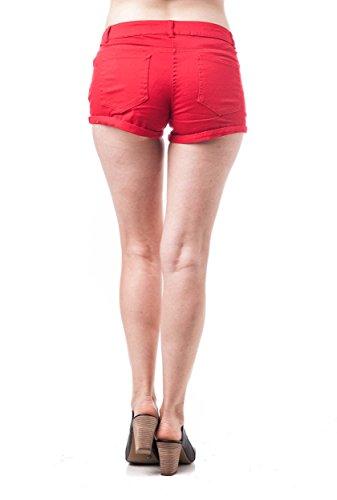 Khanomak - Pantalón corto deportivo - para mujer Rosso