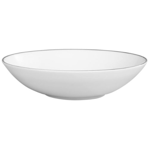 (Platinum Fine Bone China Pasta/Soup Bowl)