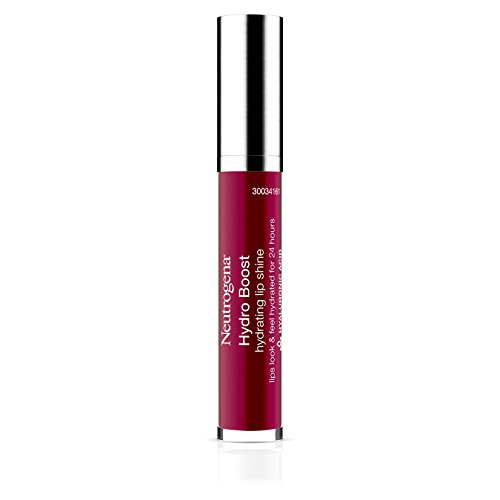 Neutrogena Hydro Boost Hydrating Lip Shine, Deep Cherry 80, 0.10 Ounce (Shine Cherry)